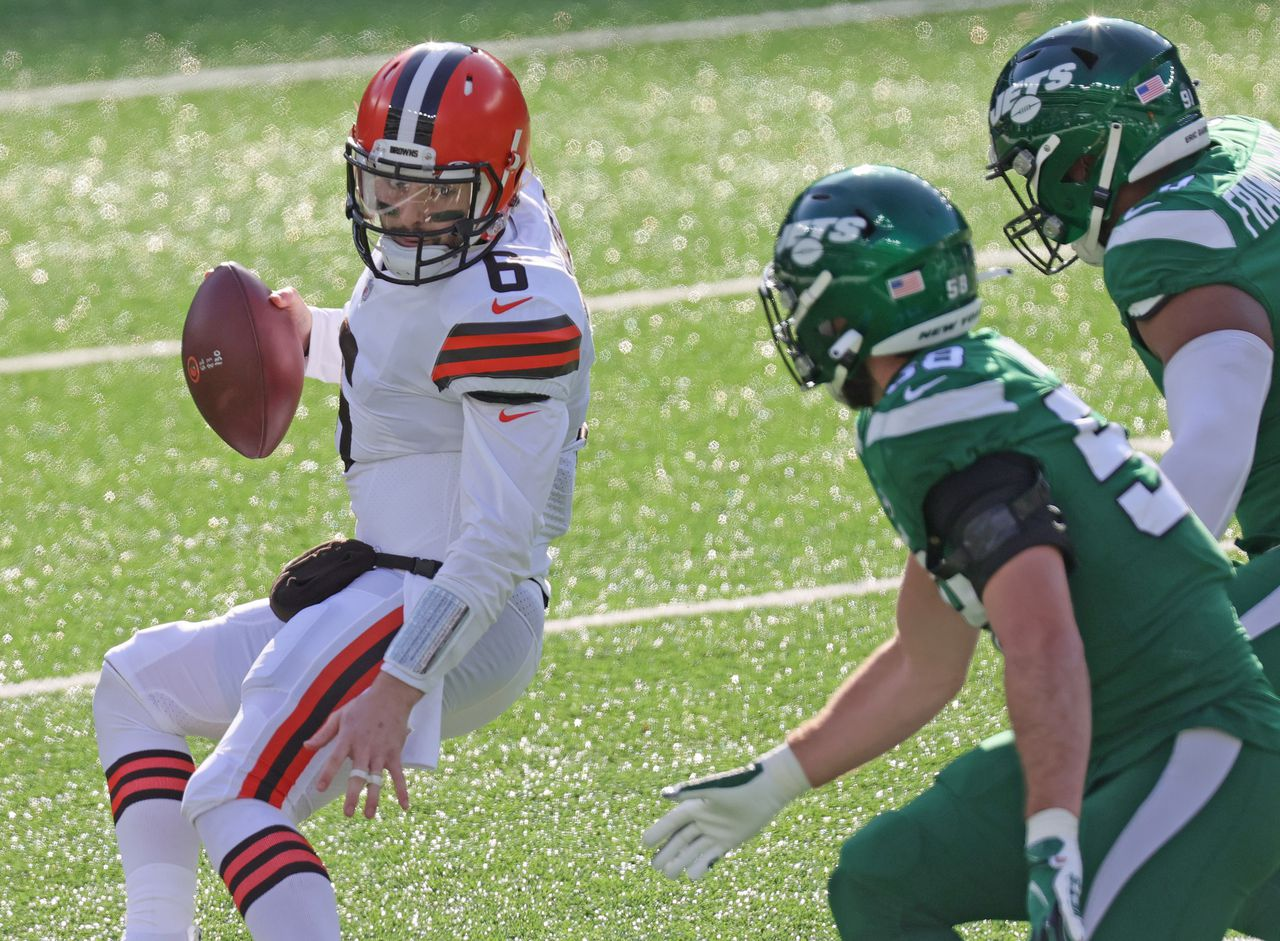 Baker Mayfield's `` You've Failed '' Speech is ready to roll in Brown history - he just needs to win: Doug Lesmerices