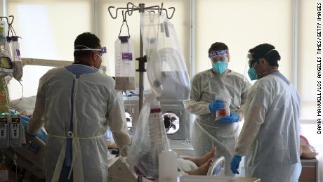 California hospitals have confirmed & # 39;  Disaster brink & # 39;  By the spread of the Coronavirus