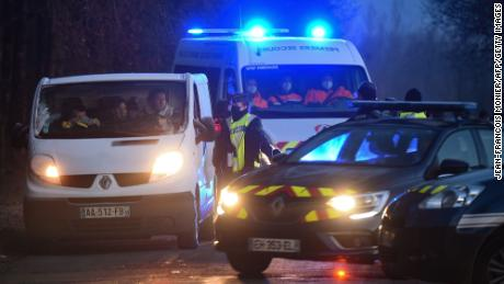 More than 1,000 fines were issued after an illegal New Year's party in France violated coronavirus restrictions