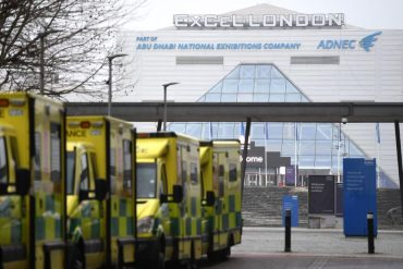 "UK Covid-19 emergency hospitals have requested to be ""ready"" to accept patients"