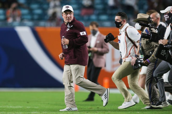 Texas A&M coach Jimbo Fisher is looking to avoid the Gatorade pigeons after Agis Orange Powell's victory over North Carolina.
