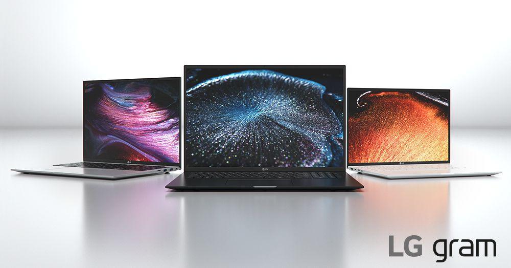 LG 2021 Gram laptops feature Intel's 11th generation processors