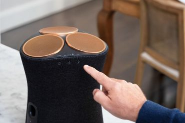 This is Sony's first 360-degree speaker