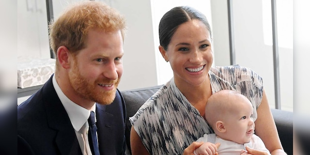Prince Harry and Meghan Markle now live in Southern California with their son Archie.  (Photo by Toby Melville-Ball / Getty Images)
