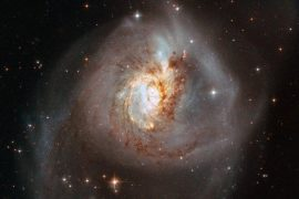 The Hubble telescope reveals rare and fascinating views of the collision of six different galaxies