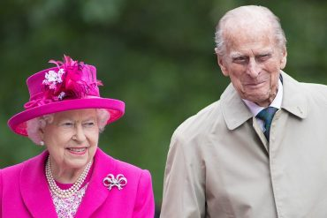 Queen Elizabeth and her husband Prince Philip receive COVID-19 vaccinations