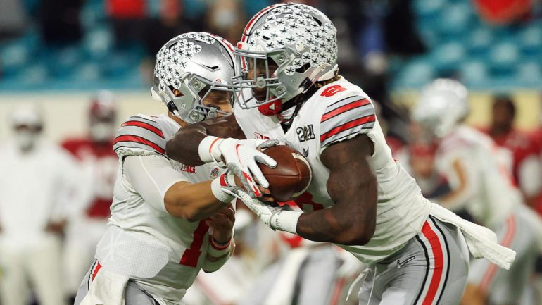 National Championship 2021: Ohio State Superstar RB Trey Sermon is out for the match with injury after one series