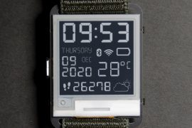 Hack your electronic paper smartwatch with this $ 50 open-source kit
