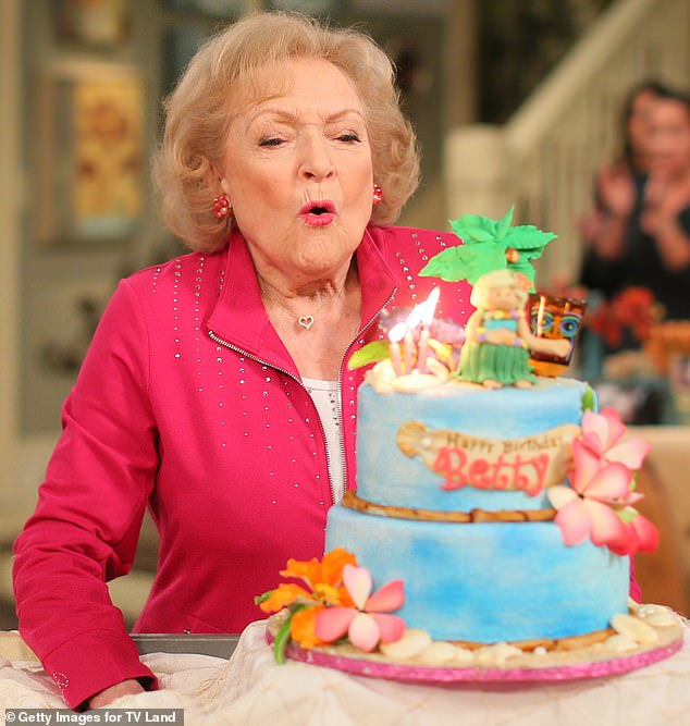 Birthday Girl: The Golden Girls star received an outpouring of love from friends and fans for her 99th party