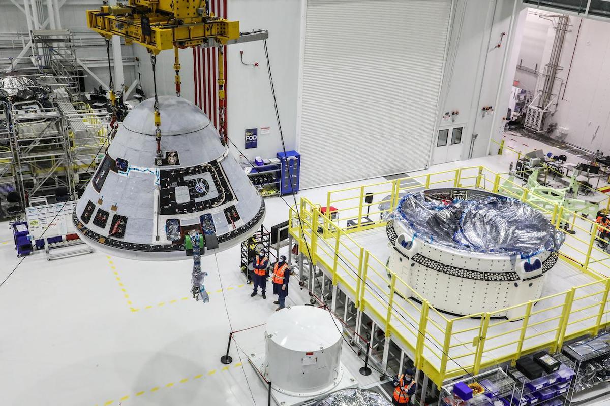 Boeing makes progress on its Starliner test flight program in March - Spaceflight Now