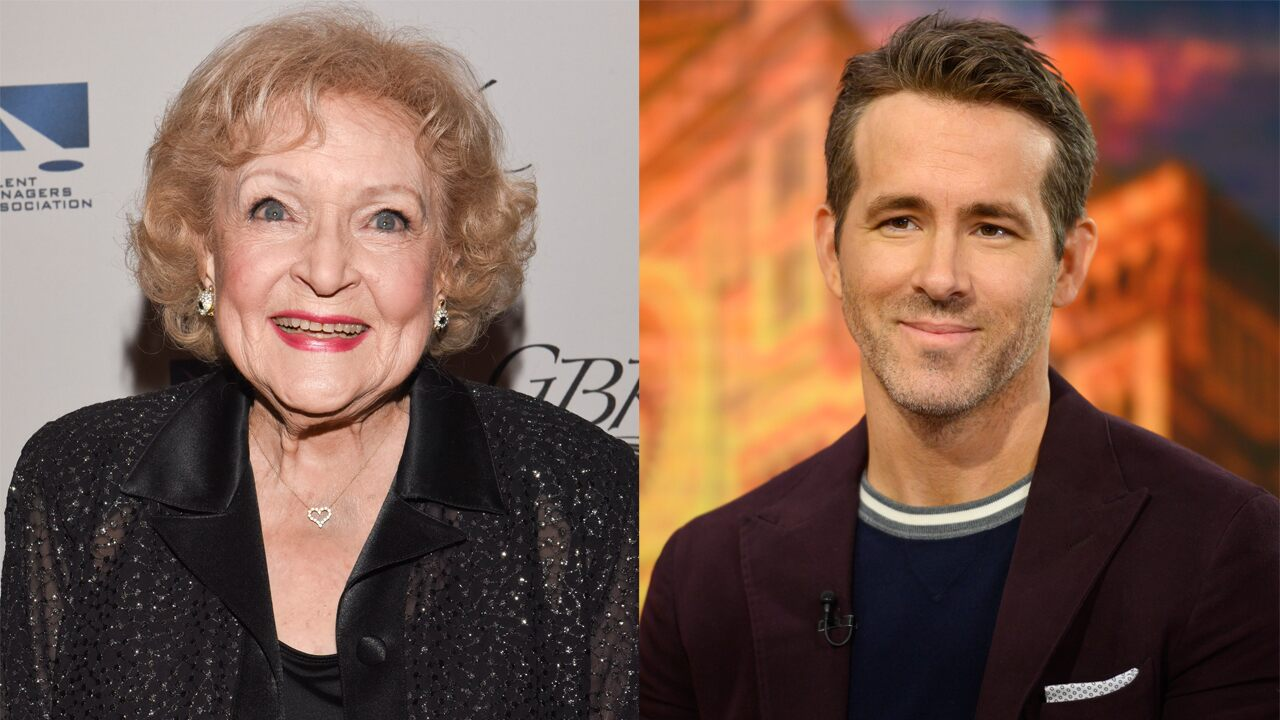 Betty White and Ryan Reynolds had a funny 'feud' on the set of The Proposal, the actor reveals