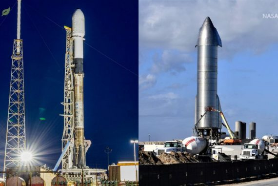 SpaceX delays pushing the Starship's flight, and two Falcon 9 rockets launch in the same 25 hour period