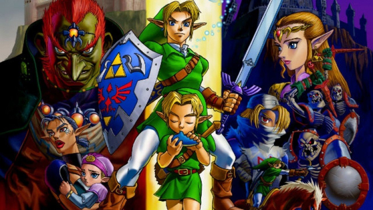 An early build of the Zelda 64 was discovered inside the F-Zero X development cartridge.