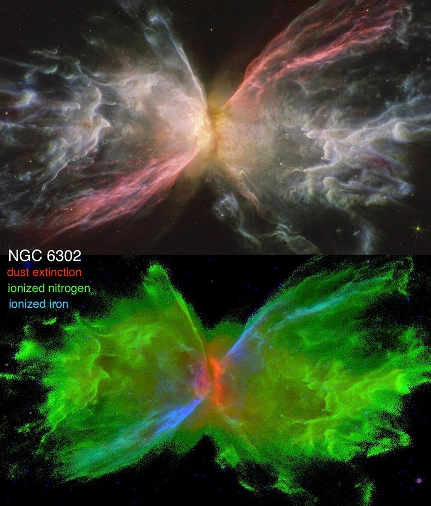 Butterfly Nebula NGC 6302
