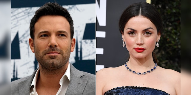Ben Affleck and Anna de Armas split after nearly a year of dating.  (Getty / AP, File)