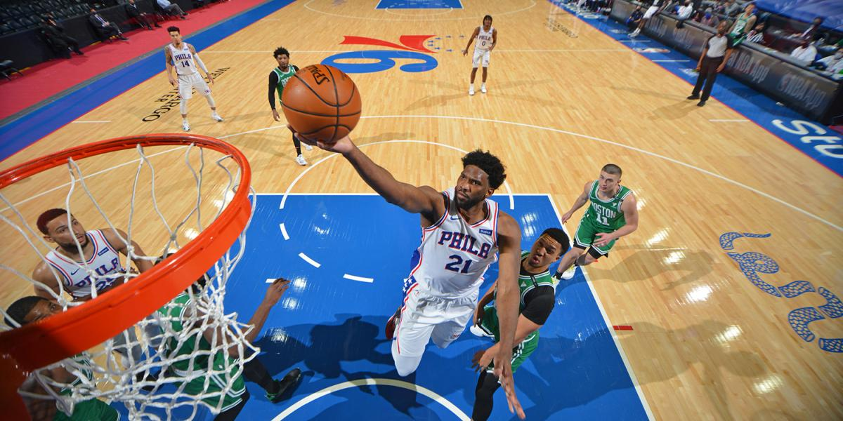 3 notes after the massive Joel Ambiad match helped the Sixers outperform the Celtics