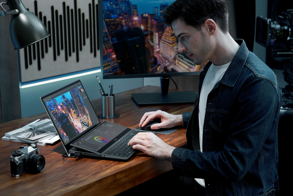 ASUS has made the next wave of dual-screen laptops even more functional