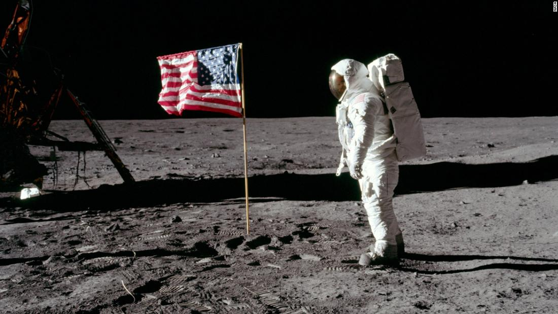 Astronaut artifacts on the lunar surface - such as the Apollo lander and Neil Armstrong's footprint - are now protected under US law