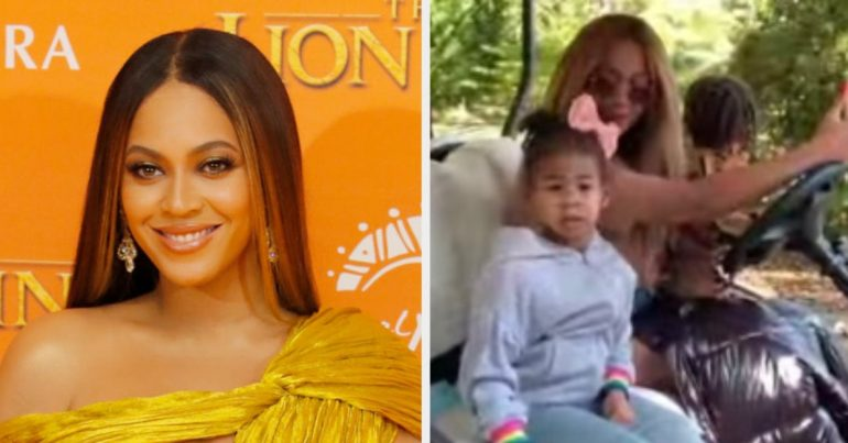 Beyoncé shares video of twins Sir and Rumi