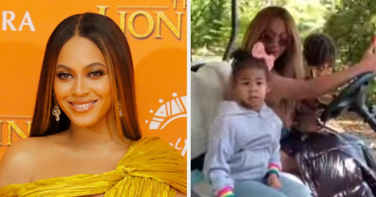 Beyoncé shares video of twins Sir and Rumi