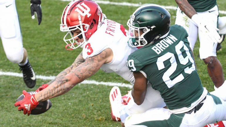 Big Ten Wide Receiver of Year Ty Fryfogle to return to Indiana for the 2021 college football season