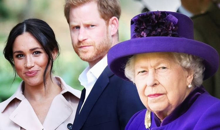 Meghan Markle and Prince Harry accused of embarrassing the Queen with strange acts |  Royal |  News