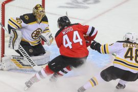 """Miles Wood """"Selfishness"""" reacts to game-changing penalties in the Devils Bruins"""