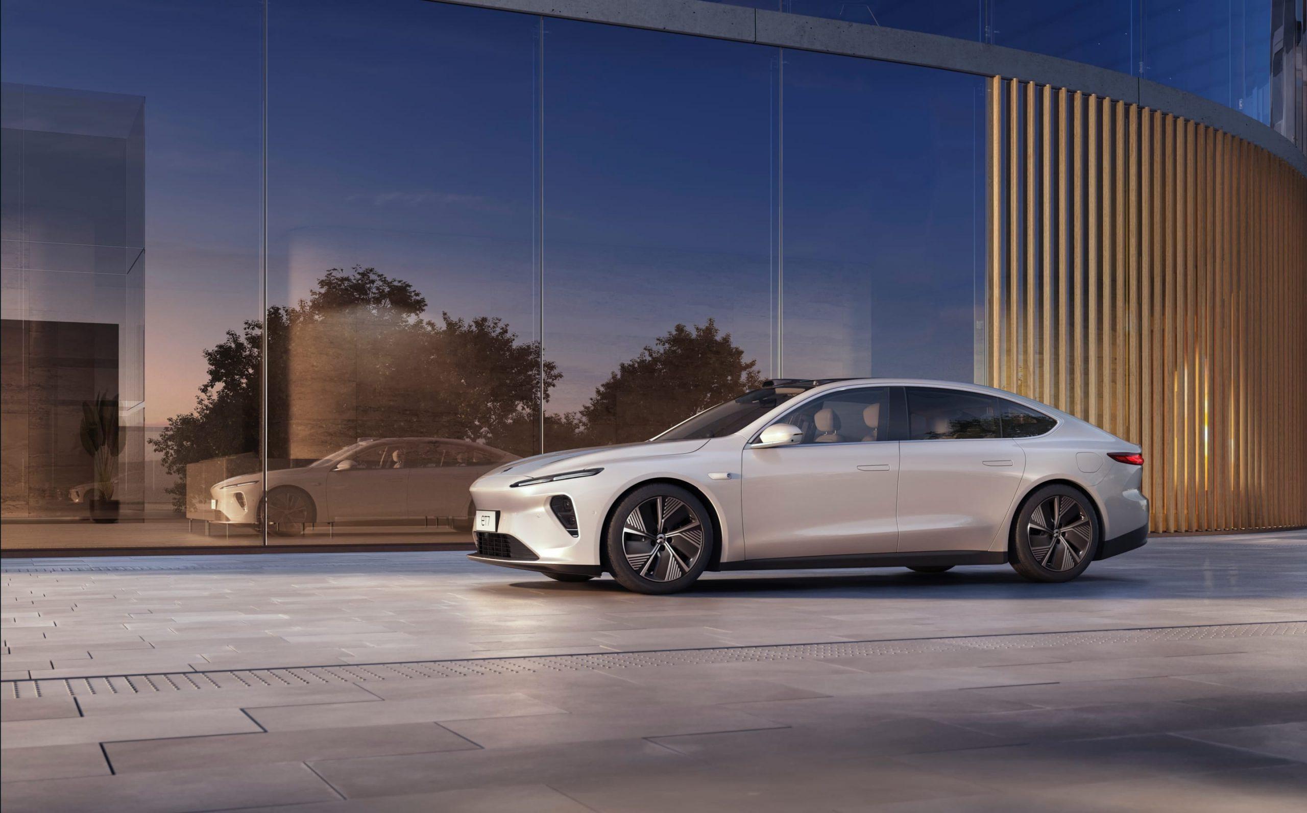 "NIO introduces new luxury sedan on ""NIO Day"""