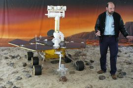 Rover to explore the soul landing on Mars