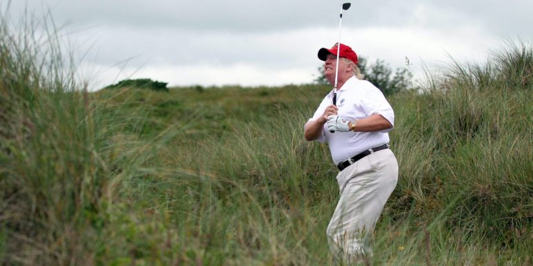 Scotland's leader bans Trump from visiting Turnberry golf resort