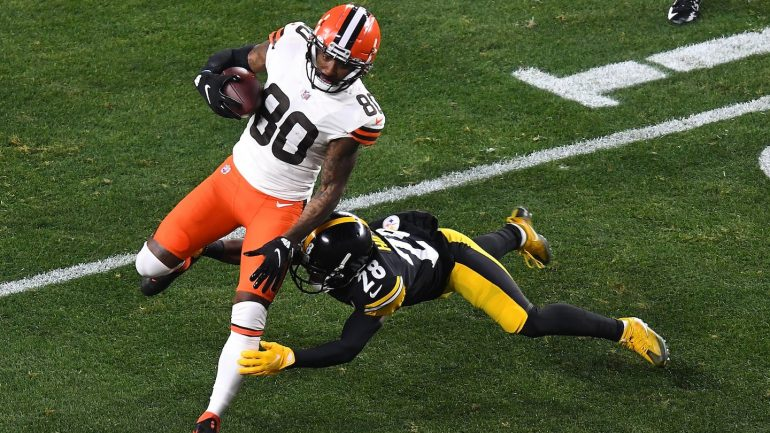 Steelers vs Browns play-offs: live updates and score