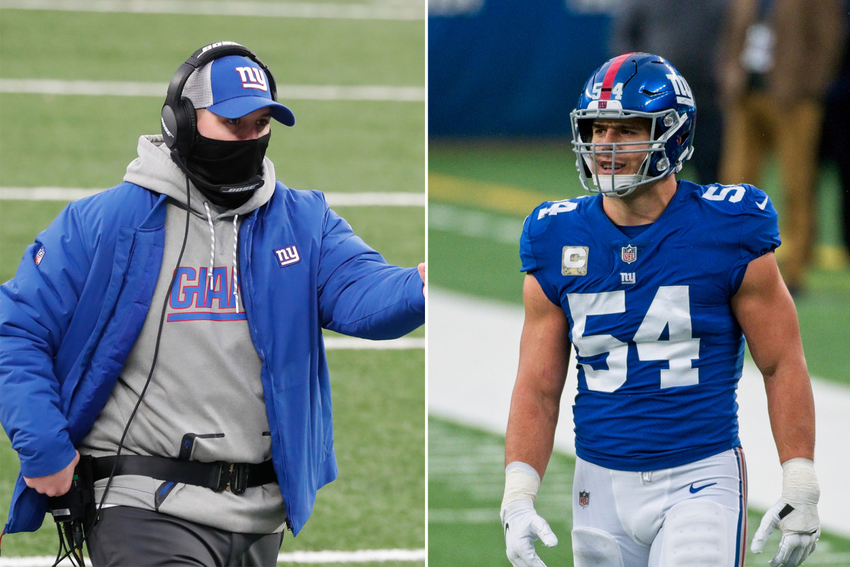 Team Giants Blake Martinez loved Joe Judge's gorgeous response to Eagles' Eagles