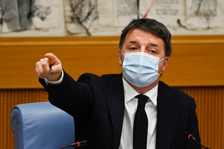 The Italian government is in crisis after the former prime minister withdrew support