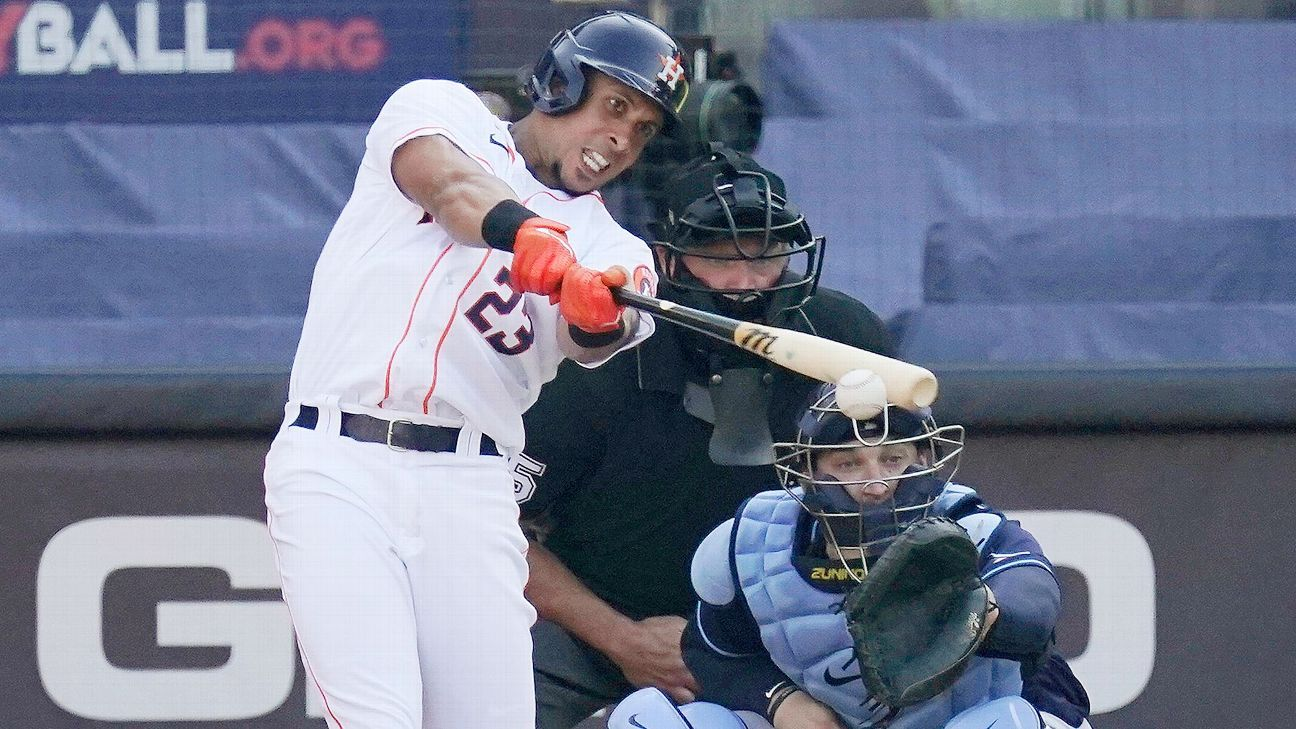 The source says Toronto Blue Jays does not have a free agent deal with Michael Brantley