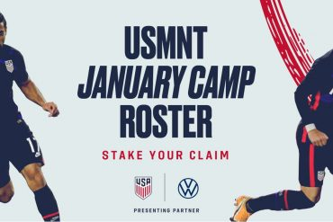 USMNT Preparation Camp begins January 9 in Bradenton, Florida.