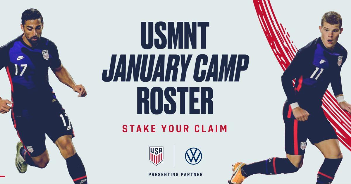 USMNT Preparation Camp begins January 9 in Bradenton, Florida.